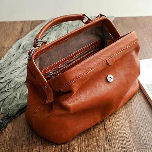 Orange Vintage Wowen Bag
