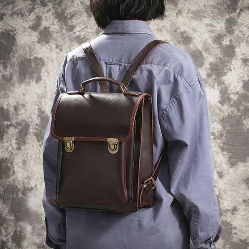 Retro Travel Bag College Style Backpack