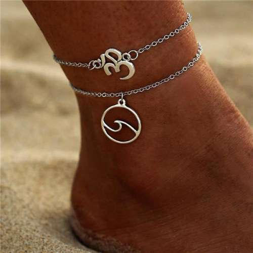 Women Fashion Alphabet Anklet