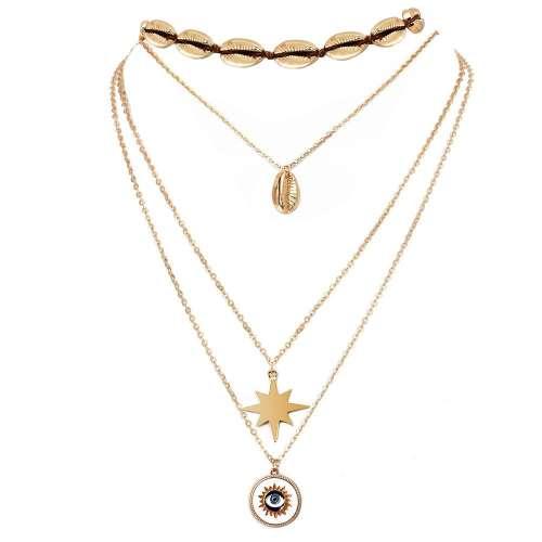 Shell Eye Necklace