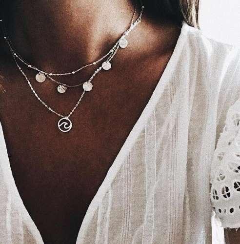 Bohemian Multi-layer Round Tassel Necklace
