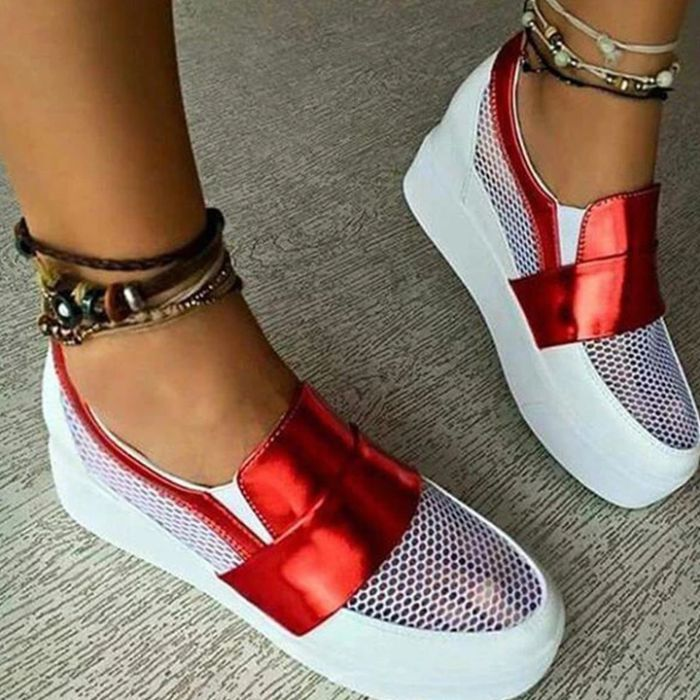 Women Hollow Out Athletic Sneakers