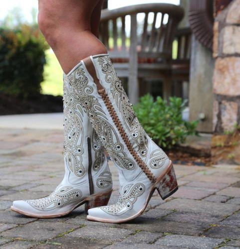 Women Vintage Pattern Boots