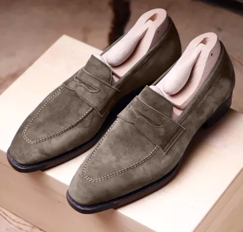 Men's Suede Boat Shoes