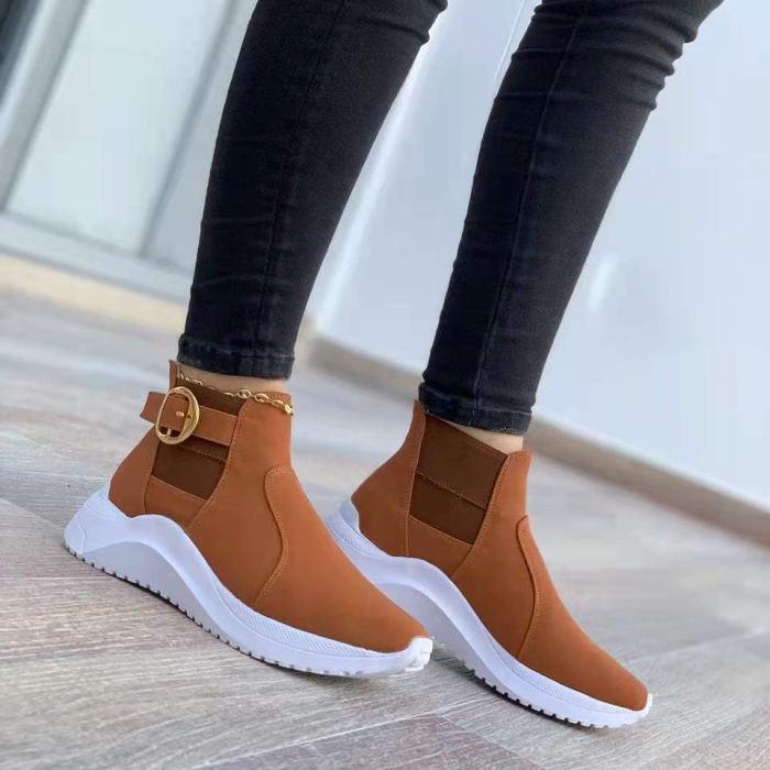 Women's Fashion Flat-Bottom Mesh Casual Sneakers