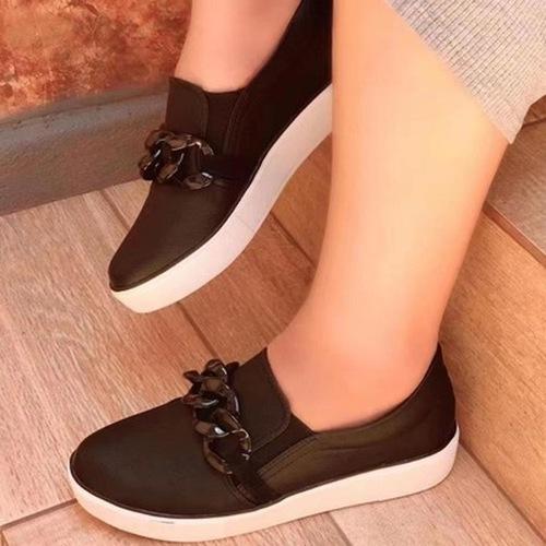 Flat Heel Loafers