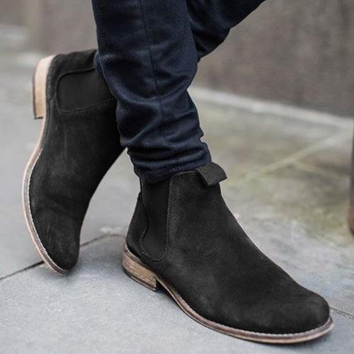 New Fashion Popular Men Chelsea Boots