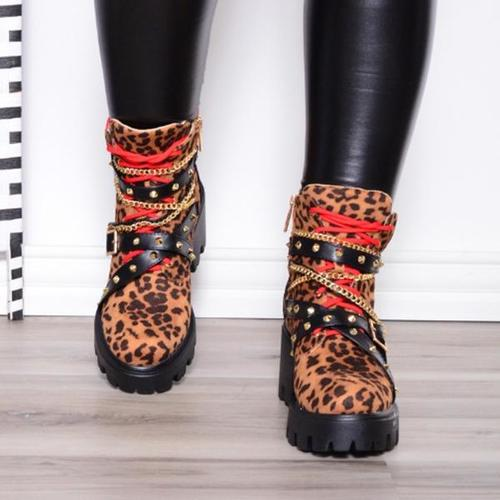 Studded Martin Boots