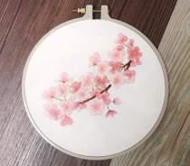 Plants Embroidery Kit Beginner,Modern Diy Embroidery Kit,Hand Embroidery Kit,Flowers Embroidery Pattern,Diy Craft kit adult,Gift for her