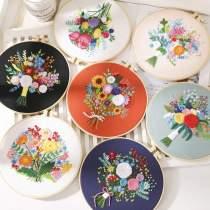 DIY Embroidery Kit beginner, Beginner Embroidery kit, Modern embroidery kit cross stitch, Hand Embroidery Kit, Needlepoint , DIY Craft Kit