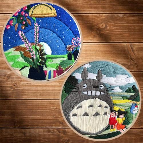 DIY Embroidery Kit beginner, Beginner Embroidery kit, Modern embroidery kit cross stitch, Hand Embroidery Kit, Needlepoint, DIY Craft Kit