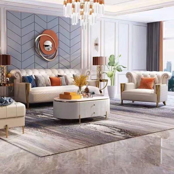Lightweight luxury softwareMicrofiber imitation leather sofas