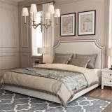 Soft Modern Upholstered Bed