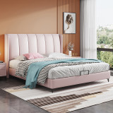 Lightly luxurious furniture bed