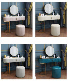Find Makeup Table With Mirror And Chair. Not just any vanity, take a gander at these attractive and fully functional makeup tables with mirror and chair.