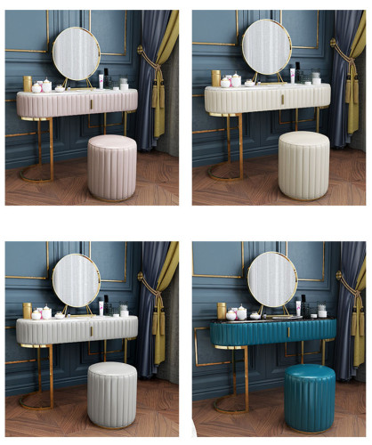 Modern simple dressing table in northern Europe