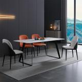 Italian simple rock board dining table