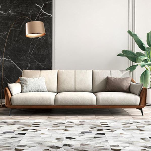 Italian style minimalist Technology cloth sofa modern luxury