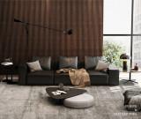 fabric sectional sofa set