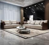 Hot sale L shape sofa for living room foshan home furniture sofa set