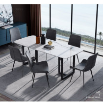 Simple modern marble dining table