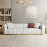Microfiber leather sofa