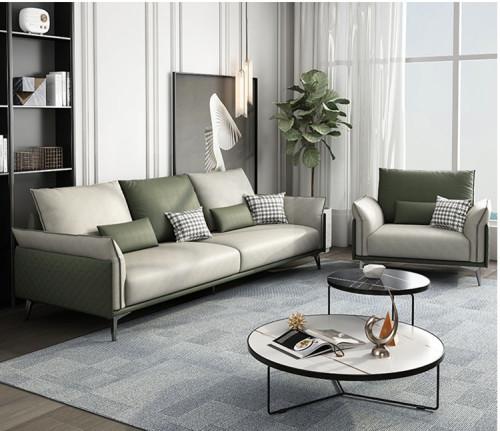 Italian minimalist Science and Technology Fabric sofa