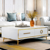 Luxury Furniture European Style Tv Stand Coffee Table Modern Furniture tables tv prices for Living Room