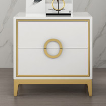 Light luxury bedside table bedroom simple modern storage