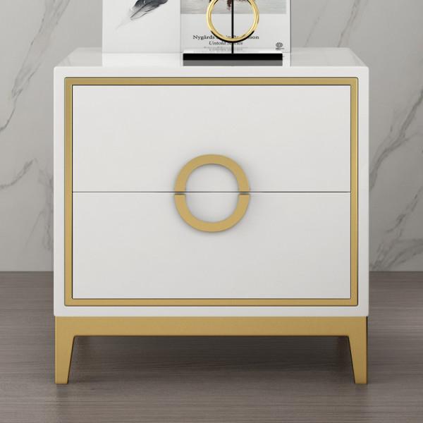 Light luxury bedside table bedroom simple modern storage