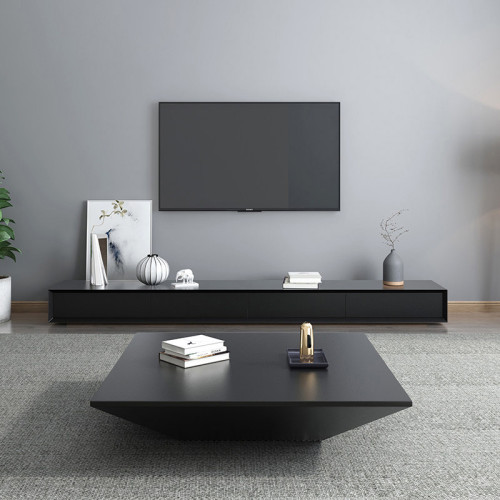 Creative tea table simple modern Nordic style tea table TV cabinet combination personality alien Art