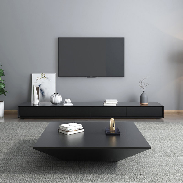 Creative tea table simple modern Nordic style tea table TV cabinet combination personality alien Art