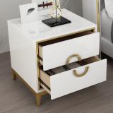 2021 Modern luxury bedside table Nordic bedroom creative locker bedside locker