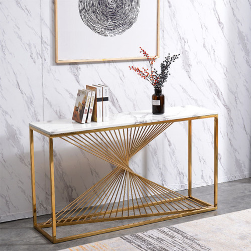 Nordic marble porch table against wall window decoration desk cabinet porch cabinet light luxury modern