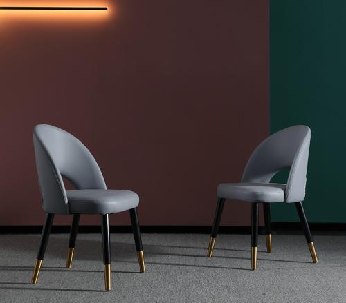 Nordic modern simple light luxury American Style Italian restaurant furniture single chair