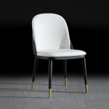 Nordic Design Stainless Steel Gold Legs Pineapple High Backrest Dinning Chair For Dining Room Furniture