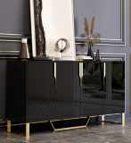 hot sale luxury modern living room side cabinet high end customization