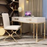glass big board table Computer desk simple modern boss desk President's desk