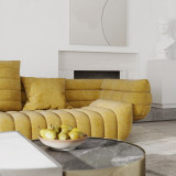 Modern design luxury furniture velvet fabric couch comfortable sofa for home