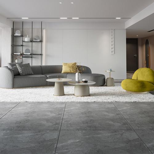 Modern light luxury sofa arc Italian simple style