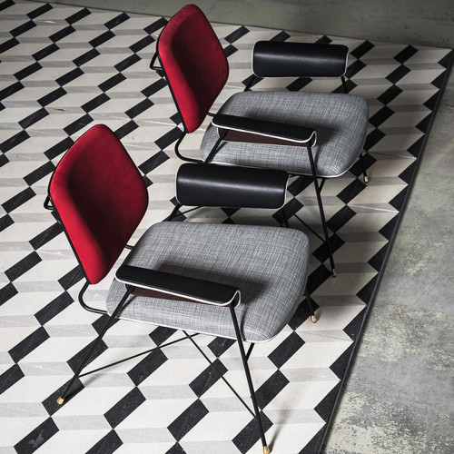 Fashionable Contemporary Fabric Lounge Chairs High Quality Wholesale Custom Cheap classic dining chair For Hotel Coffee