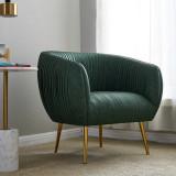 Italian Furniture Sofa Chair Luxury single person sofa Living Room Leather Leisure Chair