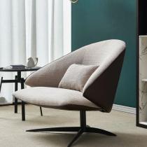 Customized Nordic single sofa single sofa light luxury single chair designer balcony living room Italian leisure chair single chair