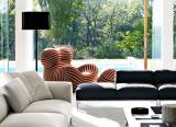 Degas light luxury single sofa chair designer leisure chair ins creative lazy reclining chair net red Hydrangea chair