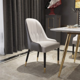 Modern style made in China cheap furniture for sale high quality wingback  dining  table set with 6 piece chairs
