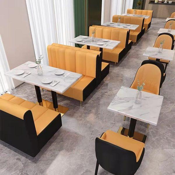 Hotel hotel milk tea shop coffee shop restaurant furniture custom table series