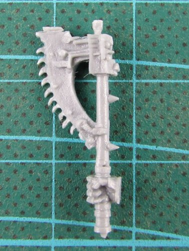 SONS OF HORUS REAVER ATTACK SQUAD BITS - Chain Axe 2