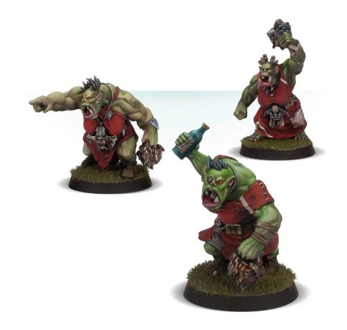 Blood Bowl The Waaaghs! Orc Cheerleading Squad