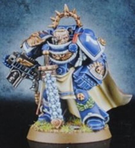 space marine Limited Edition captain