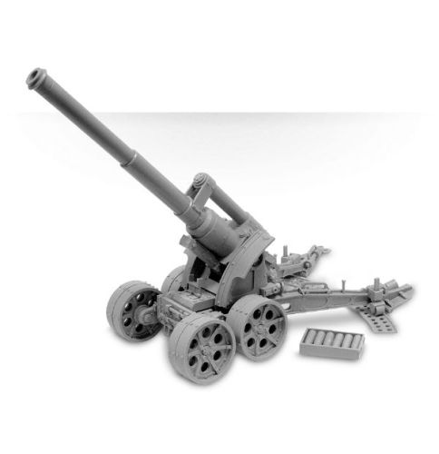 DEATH KORPS OF KRIEG HEAVY ARTILLERY CARRIAGE WITH EARTH SHAKER CANNON